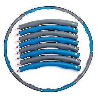 Съемное кольцо для упражнений, портативное мягкое регулируемое утяжелительное кольцо для упражнений (серый синий)