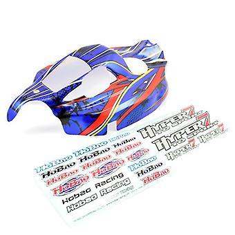 Hobao Hyper 7 Tq Sport Neues gedrucktes Gehäuse (Blau)