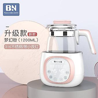 Baby thermostat milk modulator glass kettle intelligent heat preservation brewing machine powder hot warm magic device