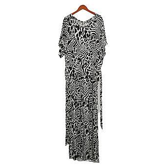 ليزا رينا جمع زائد jumpsuits قصيرة الأكمام واسعة الساق الأبيض A367831