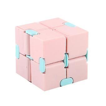 Macaron Meilong Magic Cube Meilong 2x2x2 Cubing Classroom Meilong Speed Cube (rózsaszín)