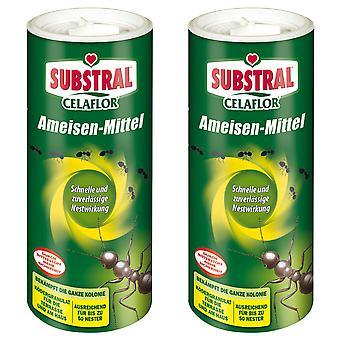Sparset: 2 x SUBSTRAL® Celaflor® ants, 500 g