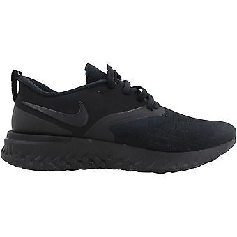 Nike Odyssey React 2 Flyknit Black/Black-Black AH1015-003 Men's