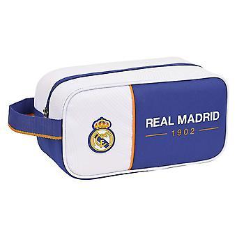 Zapatilla de viaje Titular Real Madrid C.F. Azul Blanco
