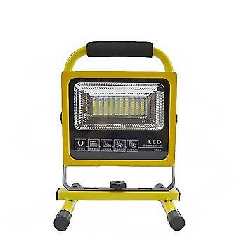 IPRee 80LEDs التخييم ضوء IP65 ضوء كاشف للماء أضواء كاشفة في الهواء الطلق التكيف عن بعد USB Rechar