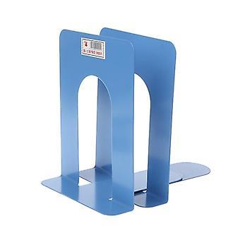 Simple Style Metal Bookends Iron Support Holder Desk står for bøger