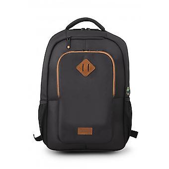 "Laptop Backpack Urban Factory ECB14UF Black 14"""