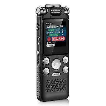 32GB digitální hlasový rekordér Pero Mini bezpáteřivý barevný displej Aktivovaný zvukový diktafon