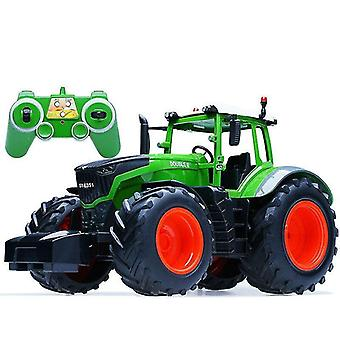 Remote control cars trucks rc truck trailer dump harvest control tractor model toys for children christmas gifts|rc trucks green
