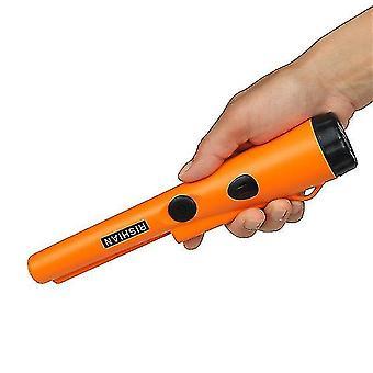 Metal detectors fully waterproof handheld metal detector underwater 3-5 meters working pinpointer orange daerduo