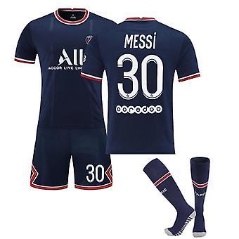 Messi Psg Jersey Paris Team T-shirt-messi-30 Paris Team Vêtements pour enfants