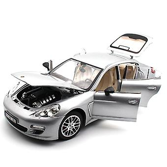 1:18 Simim Alloy Sports Car Model Toy Red / Silver