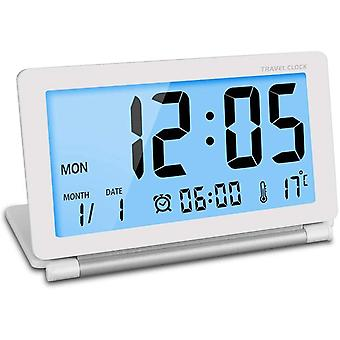 Portable Large Travel Clock With Backlight