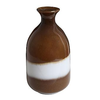 Zwei Ton Vase Glas für Wohn-, Esszimmer Dekoration