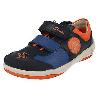 Jongens Clarks Casual schoenen Jetsky Buzz