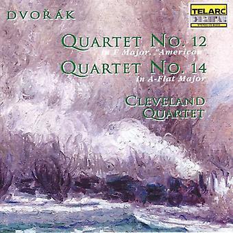 A. Dvorak - Dvor K: Quartets Nos. 12 & 14 [CD] USA import