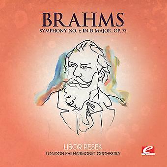 J. Brahms - Brahms: Sinfonía nº 2 en re mayor, importación USA Op. 73 [CD]