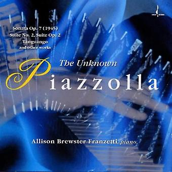 A. Piazzolla - importation USA Piazzolla inconnu [CD]
