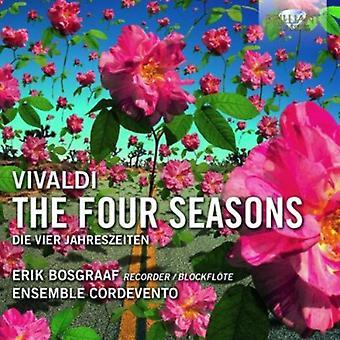 A. Vivaldi - Vivaldi: De fyra årstiderna [CD] USA import