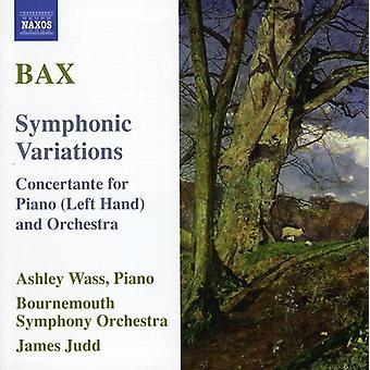 A. Bax - Bax: Sinfoninen vaihtelut [CD] USA tuonti