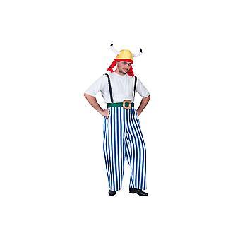Dicker Gaul Gaul Costume comic costume mens Gr. L