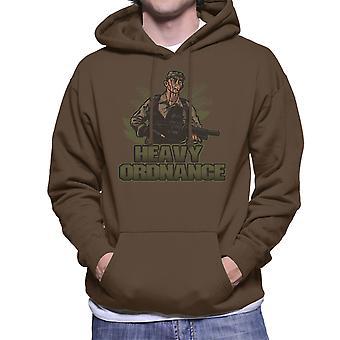 Heavy Ordnance Jorge Poncho Ramirez Predator Men's Hooded Sweatshirt