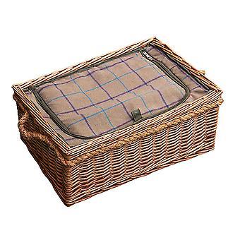 Cheltenham Prútený piknikový kôš s namontovaná chladič