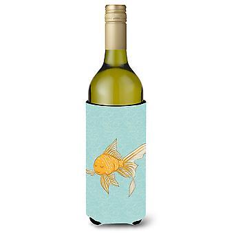 Carolines schatten BB8579LITERK Gold Fish wijnfles Beverge isolator Hugger