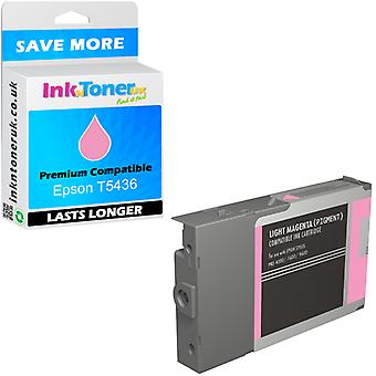 Epson T5436 luz Magenta cartucho de tinta compatible (c13t543600)