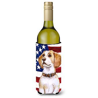 بيغل زجاجة النبيذ الوطني بيفيرجي عازل نعالها