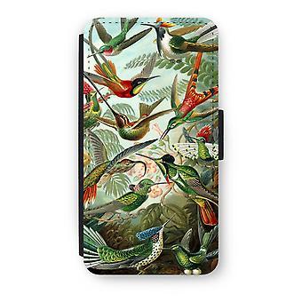 iPod Touch 6 Flip Case - Haeckel Trochilidae