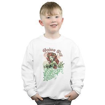 DC Comics Boys Poison Ivy Paisley Sweatshirt