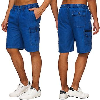 Men's Shorts New Freemen Bermuda Cargo Capri Shorts Vintage shorts Casual