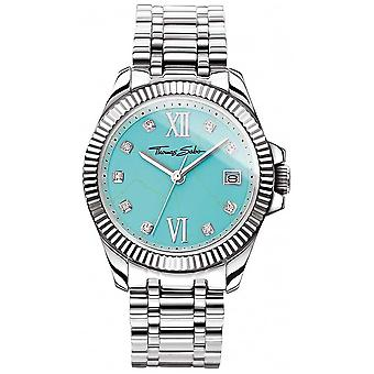 Thomas Sabo Womens Glam And Soul Divine Turquoise Dial WA0317-201-215-33