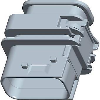 TE tilkobling Socket kabinett - PCB HDSCS, MCP totalt antall pinner 12 1-1564414-1-1 eller flere PCer