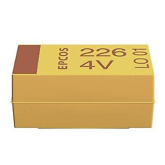 Kemet T491A225K010ZT Capacitor de tantalio SMD 2.2 sF 10 V DC 10 % (L x W x H) 3.2 x 1.6 x 1.6 mm 1 ud(s) Corte de cinta Corte de cinta