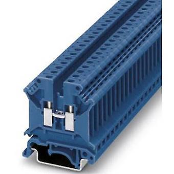 Phoenix kontakt UK 5 N BU 3004388 kontinuitet antall pinner: 2 0,2 mm² 4 mm² blå 1 eller flere PCer
