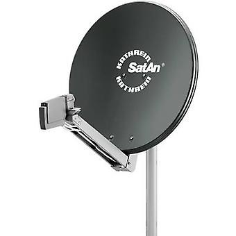 Antenna SAT Kathrein CAS 80 75 cm materiale riflettente: alluminio grafite
