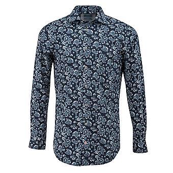 Tresanti ретро Пейсли печати Мужская рубашка
