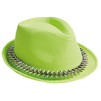 Fedora zielone kolce