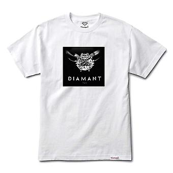 Diamond Supply Co Diamant Paris T-shirt White