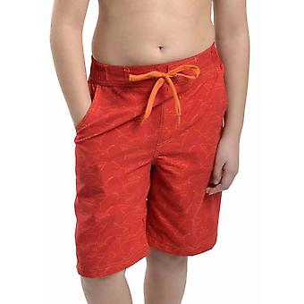 Ragazzi Tom Franks squalo stampa estate spiaggia piscina Swim Shorts con fodera in rete