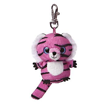 Jinxee YooHoo Plush Pink Tiger Clip On by Aurora - 29057