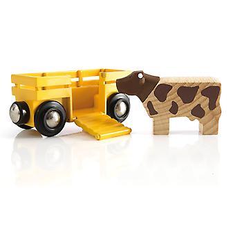 布里奥 33406 牛和货车
