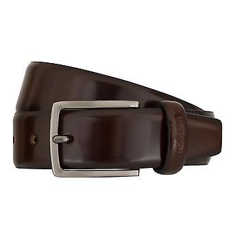 OTTO KERN belts men's belts leather belt Brown 7488