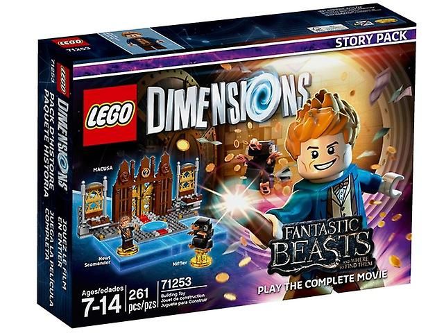 LEGO 71253 Fantastic Beasts and Where to Find Them-story package