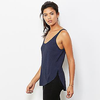 Bella And Canvas Womens/Ladies Flowy Side Slit Sleeveless Tank Top