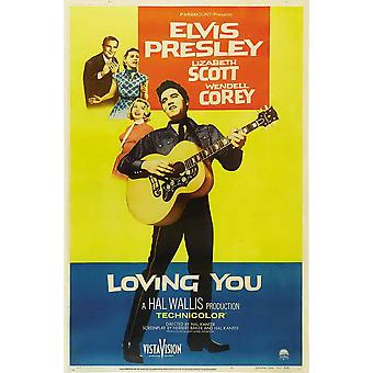 Loving You Movie Poster (11 x 17)