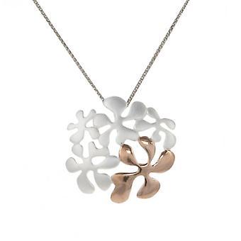 Pendentif fleur psychédélique stylisée Français Cavendish sans chaîne