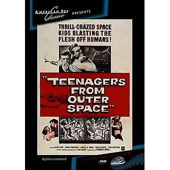 Teenagers From Outer Space [DVD] USA import